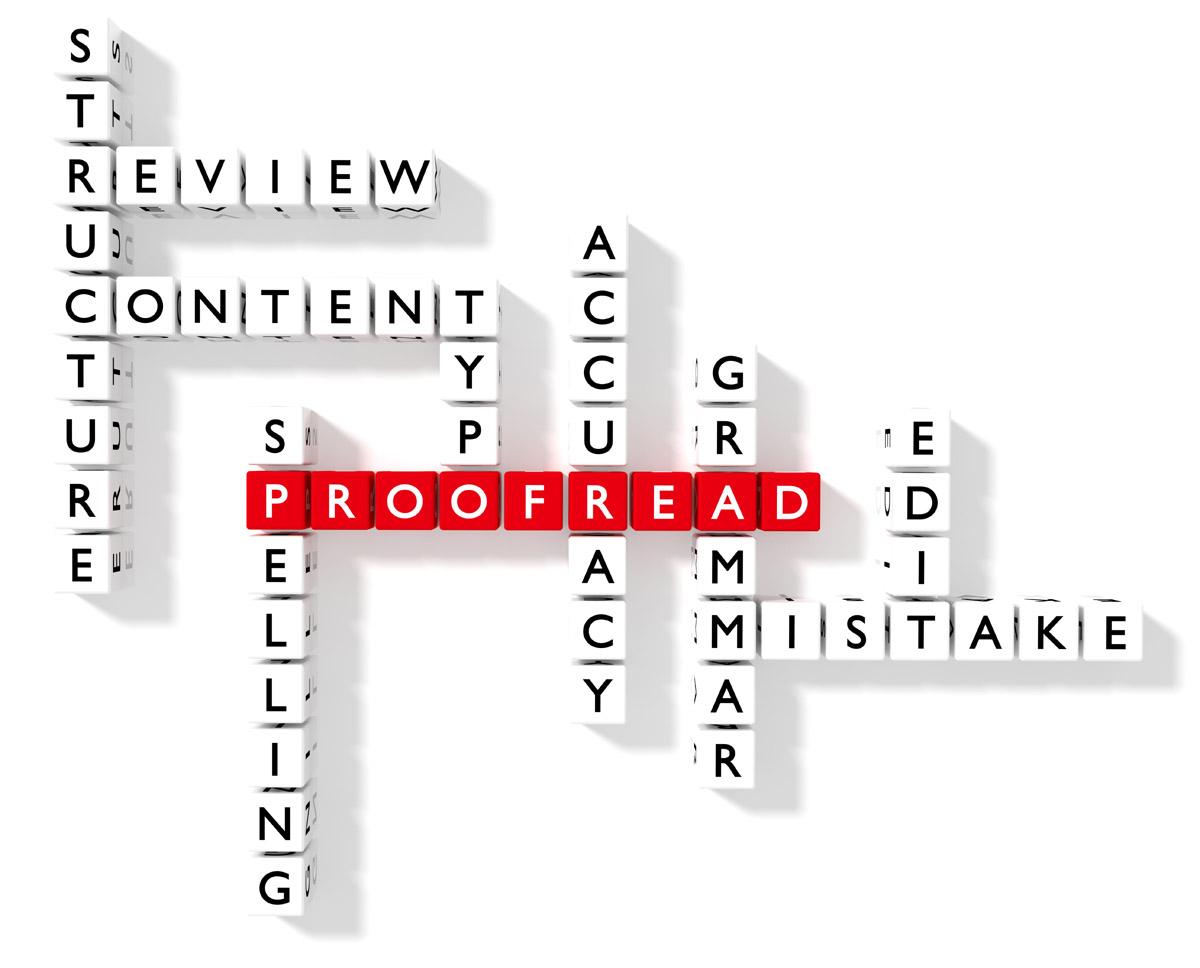 Proofreading crossword puzzle