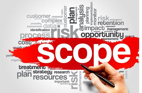 Scope word cloud image