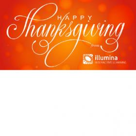 Happy Thanksgiving from Illumina Interactive
