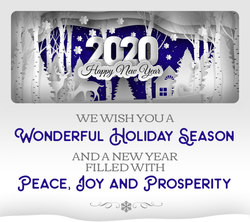 Illumina 2020 Warm Wishes for the Holidays card