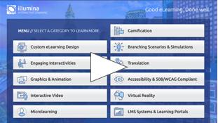 Screenshot Illumina general demo screen