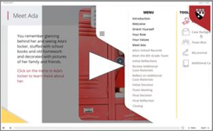 Screenshot of HGSE Multimedia Educational Ethics
