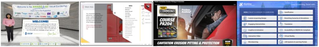 Thumbnails of several Illumina courses